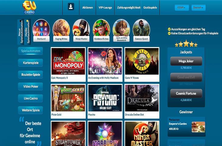 EU_Casino_neu_Spielautomaten