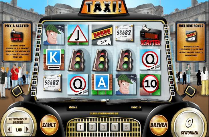 Der Taxi Spielautomat im DrückGlück Casino