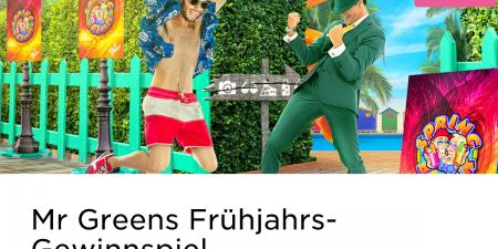 Im Mr Green Casino gibt es ein Frühjahrs-Gewinnspiel