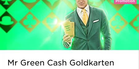 Im Mr Green Casino kann man 20 Euro beim Blackjack spielen gewinnen